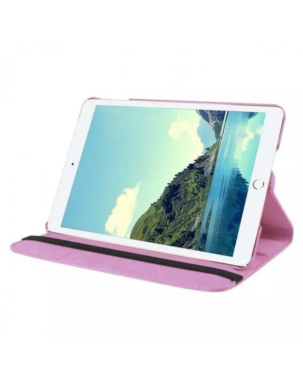 Rotating Flip Cover For Apple iPad 10.2 7th Gen (2019) Light Pink