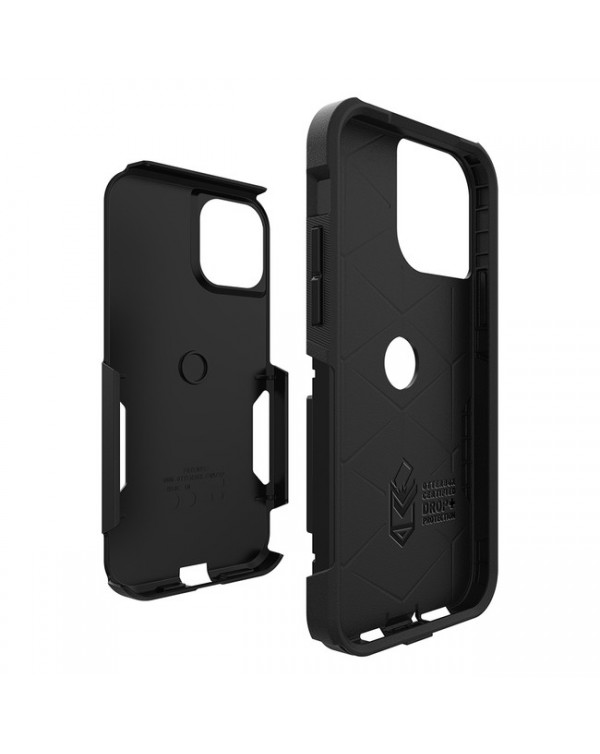 Otterbox - Commuter Protective Case Black for iPhone 12/12 Pro