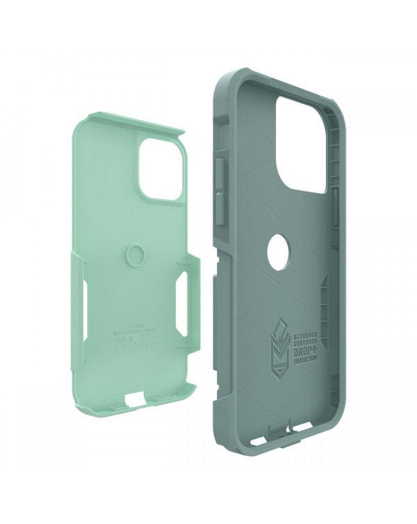 Otterbox - Commuter Protective Case Aqua Sail/Aquifer for iPhone 12/12 Pro
