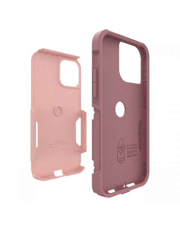 Otterbox - Commuter Protective Case Pink Salt/Blush for iPhone 12 mini