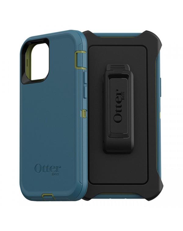 Otterbox - Defender Protective Case Guacamole/Corsair for iPhone 12/12 Pro