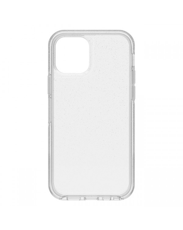 Otterbox - Symmetry Clear Protective Case Silver Flake for iPhone 12/12 Pro