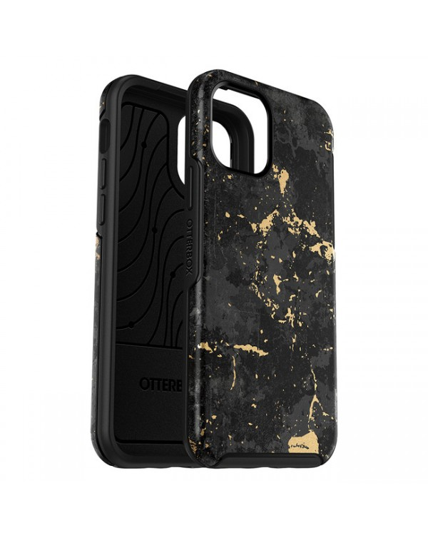 Otterbox - Symmetry Graphics Protective Case Black/Enigma for iPhone 12 mini