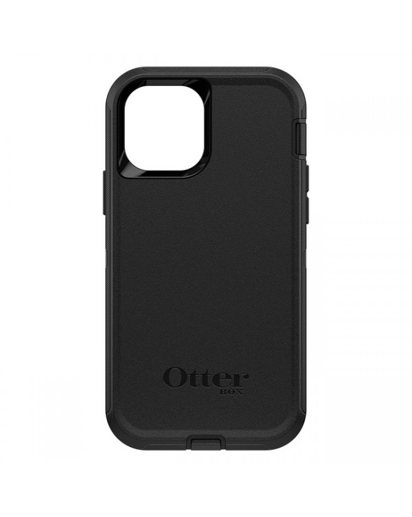 Otterbox - Defender Protective Case Black for iPhone 12/12 Pro