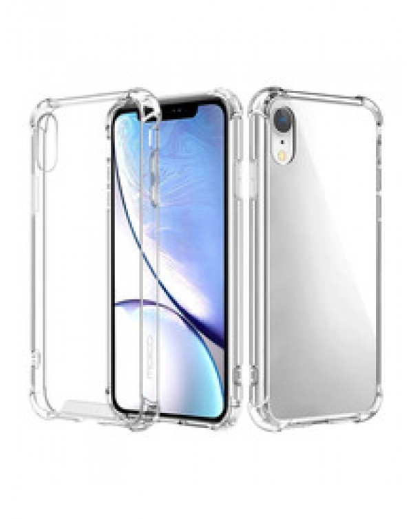 Apple iPhone XR Clear Bumper Case