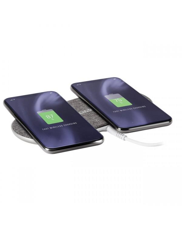 Ventev - Wireless Chargepad Duo Qi 10W Grey
