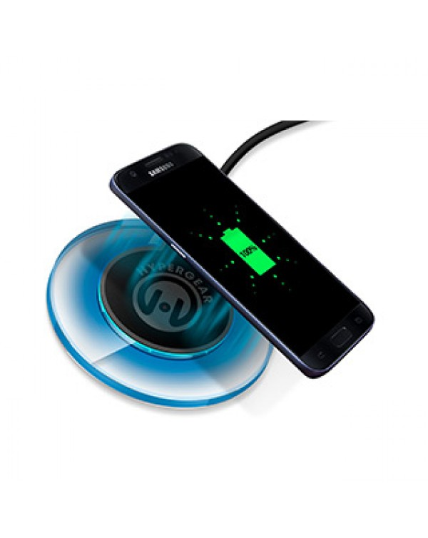 HyperGear 10W Black/Grey UFO Wireless Charging Pad