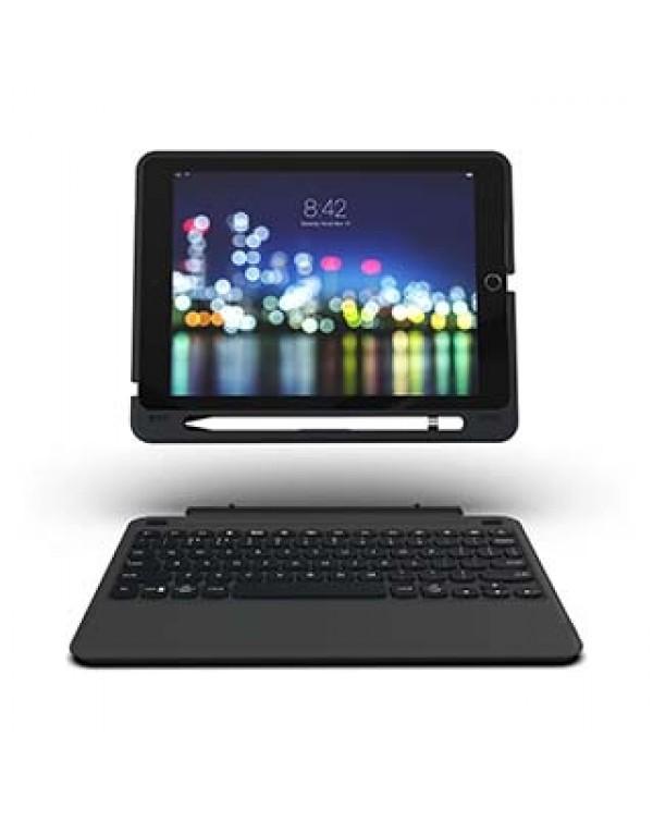 iPad 10.2 (2019) (7th Gen) ZAGG Black Keyboard Slim Book Case